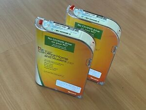 Genuine Microsoft Office Home and Student 2007 Licensed for 3 Home Computers