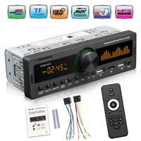 SWM-80A Single DIN Car Stereo Audio Copy Bluetooth TF USB AUX Locator Head Unit