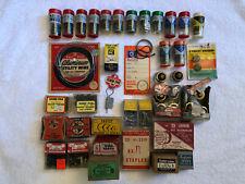 Lot Of 35 Vintage House Hardware Eagle Fuses Atlas Tacks Presto Bull Dog Louver