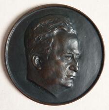 Médaille en BRONZE médecin Louis PORTES  signé COEFFIN