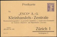 1930 - Privatganzsache - Postkarte - Tellknabe - Zürich
