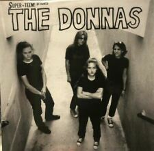 THE DONNAS s/t California Garage Rock Punk ELECTROCUTES TEEM vinyl LP (2021)
