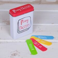 Pissy Plasters Tin Novelty Birthday & Fathers Day Gift Ideas for Her Him Friends