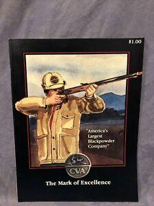"CVA ""The Mark Of Excellence"" 1985 Blackpowder Hunting Catalog"