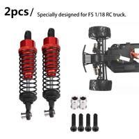 2pcs RC Car Aluminium Alloy Shock Absorber Damper for FS 1/18 RC Truck ❤ve