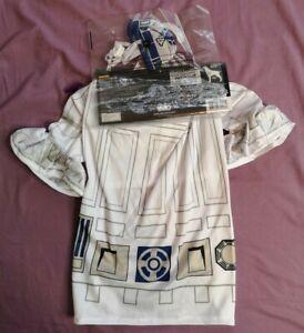 Rubies Star Wars R2-D2  Fancy Dress Dog Costume Size M Medium New With Tags