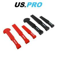 US PRO Tools 6pc Non-Marking Trim & Pry Bar Door Trim Remover Clips Tool Set