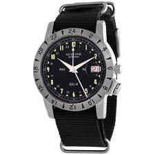 Glycine Airman 1953 Vintage GMT Automatic Black Dial Men's Watch GL0218