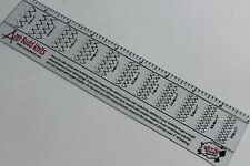 Ann Budd Knitting Tension/Gauge Ruler. Check your tension as you knit!