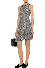 NWT 10 Crosby By Derek Lam Asymmetric Boucle Mini Dress Size 0 Outnet $495