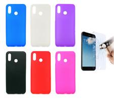 "Cover Custodia Gel Silicone Per Huawei Honor Play 4G 6.3"" + Protezione Opzionale"
