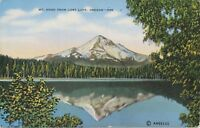 """USA ca. 1940 very fine mint coloured pc """"Mt. Hood from Lost Lake, Oregon"""""""