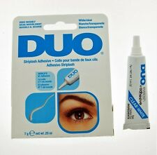 DUO Eyelash Glue Adhesive - Waterproof , White, Clear, 7g - New & Boxed