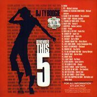 DJ Ty Boogie Remember This ? #5 Old School R&B Mix CD Mixtape RNB Throwbacks