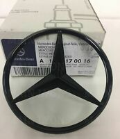 Mercedes Benz A Class W176 Gloss Black Rear Boot Badge Star A1768170016  Black