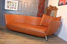 Designer DE SEDE DS102 sofa tan leather over RRP £9000 new still selling