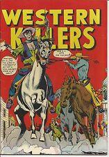 WESTERN KILLERS nn #59 (?), 1948?, SCARCE BOOK, NICE VF/VF+ COPY