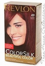 Treehousecollections: Revlon Colorsilk Auburn Brown #49 Hair Color