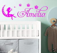 CUSTOM NAME WALL STICKERS / NEWBORN NAME STICKER Personalised Name Stickers S46