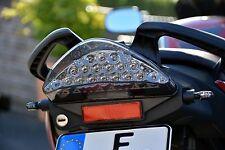 1 Paio Indicatori LED Micro Indicatore Mini indicatore Piccolo nero e-omologato