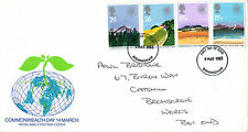 9 MARCH 1983 COMMONWEALTH DAY ROYAL MAIL FIRST DAY COVER BIRMINGHAM FDI (d)