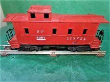 Vintage O Lionel  6257 Red Caboose Car  mytr162