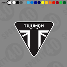 TRIUMPH Triangle Sticker Vinyl Decal Bonneville Street Triple 2324-0119