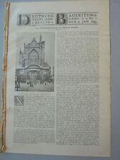 1899 1 Metz Dom Wiederherstellung