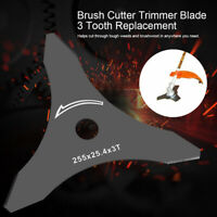 3 Tooth Brush Cutter Brushcutter Trimmer Blade Strimmer Lawn Mower 3 T Tool