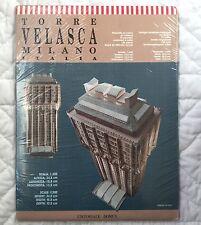 Domus Kit Torre Velasca Milano Italia Jesus Moctezuma 1:300 New Print Italy