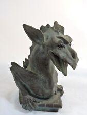 "Vintage Universal Statuary Dragon Gargoyle 1994 Figurine #5040 ~5-3/4"" Tall"