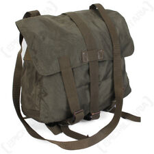 Original Austrian Olive Drab Pilots Bag - Rucksack Pack Surplus Military Army