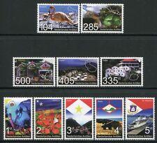 Niederländische Antillen 2007 Inseln Schiff Vogel Architektur Flag 1529-1538 MNH