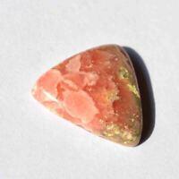 Natural Rhodochrosite Gemstone Cabochan Triangle Shape Loose Cab R18852