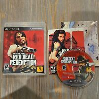 Red Dead Redemption - Rockstar Games - Complete CIB with Map (2010) PS3 G1-F