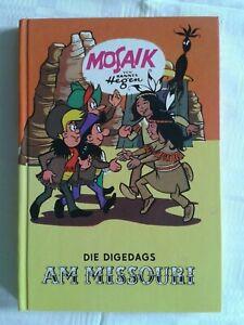"""Mosaik """"Die Digedags"""" - Am Missouri - Band 6 Hannes Hegen Verlag Junge Welt"""