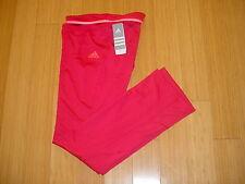 Womens Adidas Climacool Adizero Tennis Running Track Sweat Warmup Pants 8/M $60