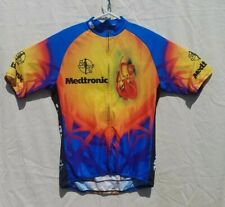 Medtronic Sugoi Cycling Jersey Heart Vertebrae Large