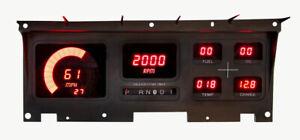 1980-86 Ford Truck Digital Dash Panel RED LED Gauges DP1011R Lifetime Warranty!