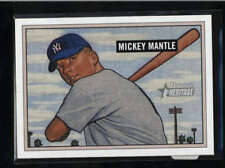 MICKEY MANTLE 2005 BOWMAN HERITAGE #350 RARE ROOKIE REPRINT SP AB9611