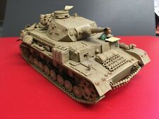 Tamiya German Panzer tank 1/35 scale weathered