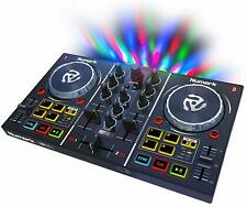 Numark DJ Controller Mixing Deck MP3 Music Sound Mixer Two Channel Plug + Play