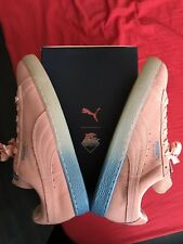 Puma x Pink Dolphin Suede classic coral pink
