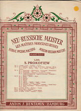 PROKOFIEW Sheet Music - PRELUDE