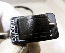 Minolta  SR-7 1 Vinyl Camera Neck strap 1cm wide Black      free shipping USA