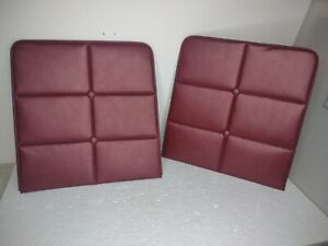 1972 - 76 Lincoln Continental Mark IV Front Seat Back Panels - OEM - USED - NICE