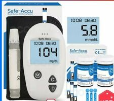 Safe-Accu blood glucose meter & Test Strips & Lancets 50/50pcs Glucometer Diab