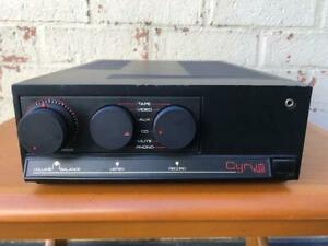 Vintage Mission Cyrus Two Hi-Fi Integrated Amp Amplifier - Made in England