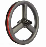 12 Inch 3 spoke Carbon Wheelset Bicycle Carbon Wheels Kid Balance Bike push bike