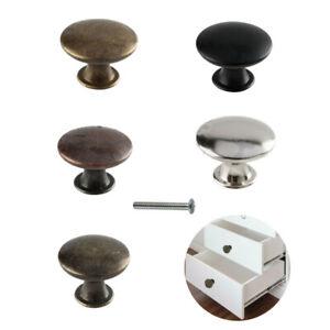 Round Shape Cupboard Drawer Door Knob Wardrobe Bedroom/Bathroom Furniture Handle